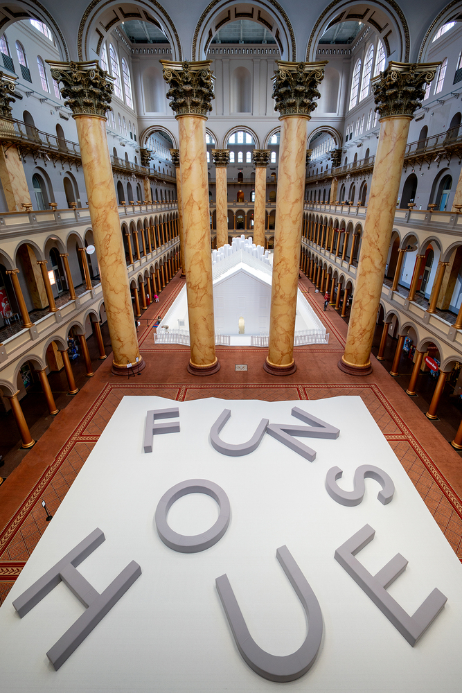 snarkitecture_fun_house_exposition_national_builging_museum_musée_washington_usa_bulle_architecture_scénographie_espaces